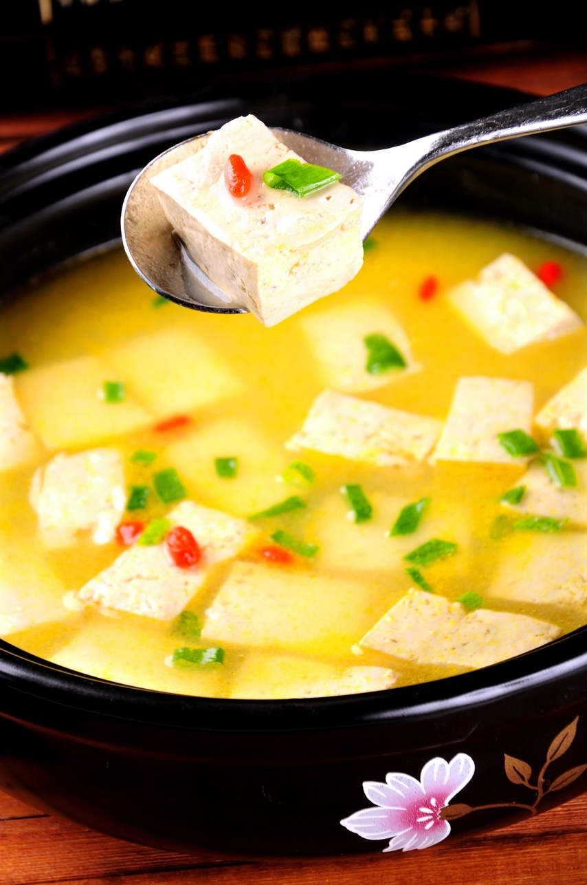 鸡汤古月豆腐.JPG